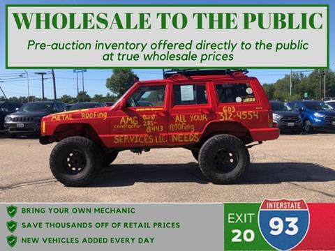 2000 Jeep Cherokee for sale in Tilton, NH