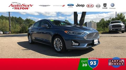 2019 Ford Fusion Energi for sale in Tilton, NH