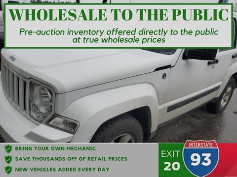 2011 Jeep Liberty for sale in Tilton, NH