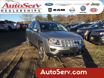 2017 Jeep Compass for sale in Tilton, NH