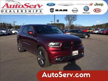 2017 Dodge Durango for sale in Tilton, NH