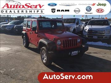 2017 Jeep Wrangler Unlimited for sale in Tilton, NH
