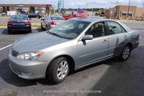 2005 Toyota Camry for sale in Richmond VA