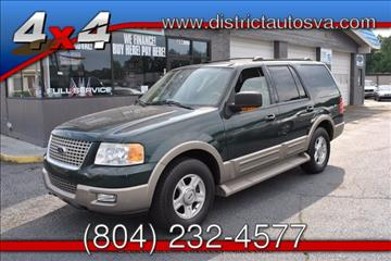 2003 Ford Expedition for sale in Richmond, VA