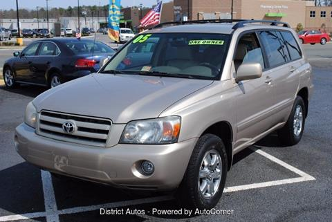 2005 Toyota Highlander for sale in Richmond VA