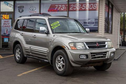2001 mitsubishi montero for sale in franklin park il