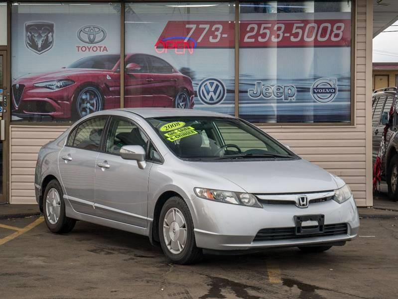 2008 Honda Civic For Sale At EL SOL AUTO MART In Franklin Park IL