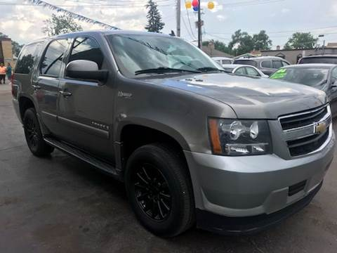 2008 Chevrolet Tahoe for sale at TOP YIN MOTORS in Mount Prospect IL