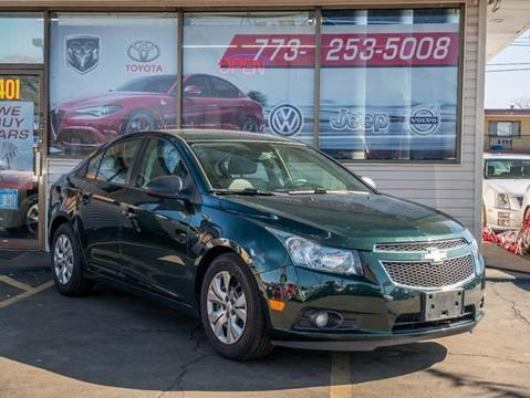 2014 Chevrolet Cruze for sale at TOP YIN MOTORS in Mount Prospect IL