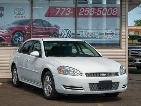 2012 Chevrolet Impala for sale at TOP YIN MOTORS in Mount Prospect IL