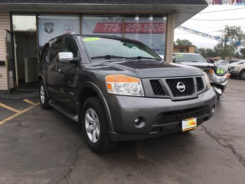 2008 Nissan Armada for sale at EL SOL AUTO MART in Franklin Park IL