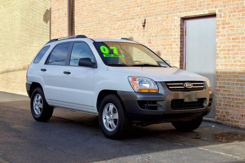 2007 Kia Sportage For Sale At EL SOL AUTO MART In Franklin Park IL