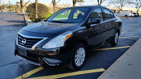 2015 Nissan Versa for sale at TOP YIN MOTORS in Mount Prospect IL