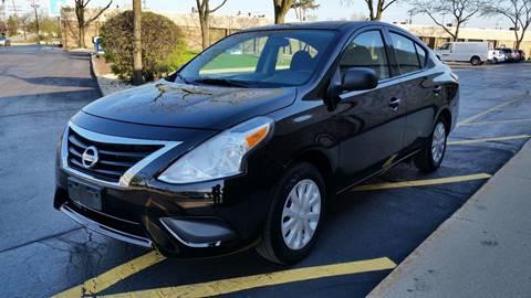 2015 Nissan Versa for sale at EL SOL AUTO MART in Franklin Park IL