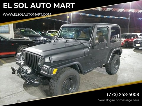 2001 Jeep Wrangler for sale in Franklin Park, IL