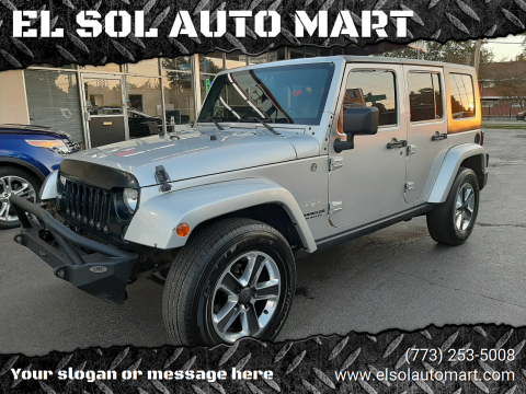 jeep wrangler unlimited for sale in franklin park il el sol auto mart jeep wrangler unlimited for sale in