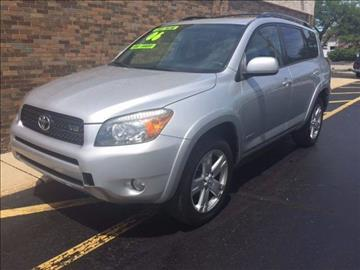 2006 Toyota RAV4 for sale at TOP YIN MOTORS in Mount Prospect IL