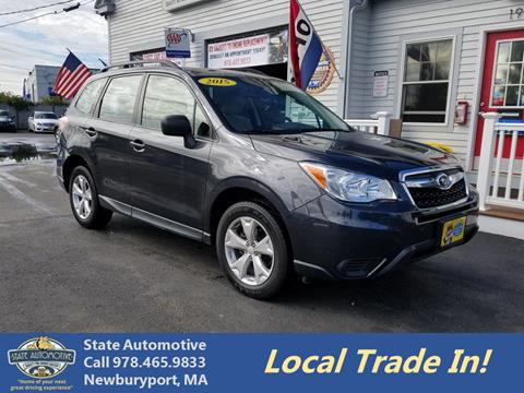 used cars for sale in newburyport, ma carsforsale com®2015 subaru forester for sale in newburyport, ma