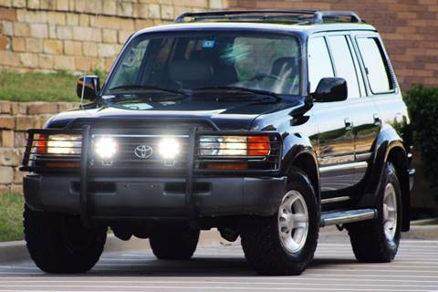 1997 Toyota Land Cruiser for sale at Texas Select Autos LLC in Mckinney TX