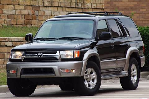 2002 Toyota 4Runner for sale at Texas Select Autos LLC in Mckinney TX