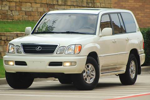1999 Lexus LX 470 for sale at Texas Select Autos LLC in Mckinney TX