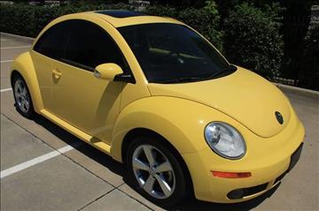 2007 Volkswagen New Beetle for sale in Mckinney, TX