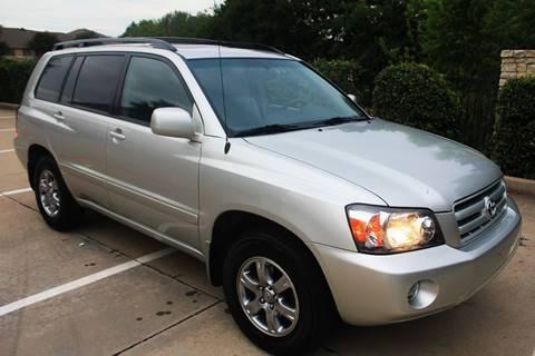 2005 Toyota Highlander for sale in Mckinney, TX