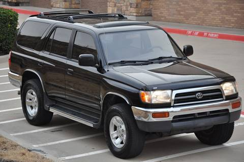 1998 Toyota 4Runner for sale at Texas Select Autos LLC in Mckinney TX