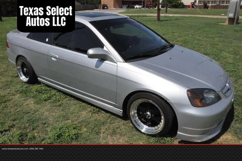 2003 Honda Civic EX 2dr Coupe   Mckinney TX