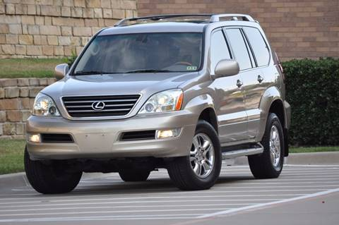 2004 Lexus GX 470 for sale at Texas Select Autos LLC in Mckinney TX