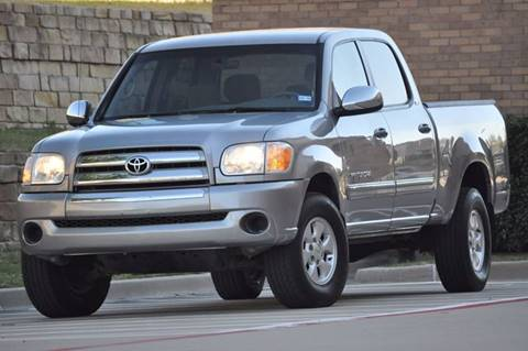 2005 Toyota Tundra for sale at Texas Select Autos LLC in Mckinney TX