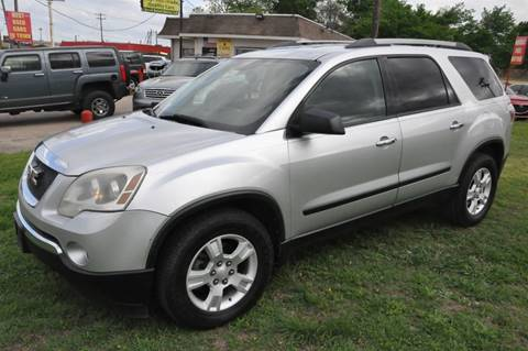 2010 GMC Acadia for sale in Mckinney, TX