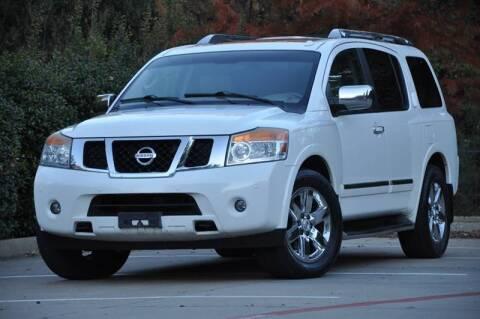 2012 Nissan Armada Platinum for sale at Texas Select Autos LLC in Mckinney TX