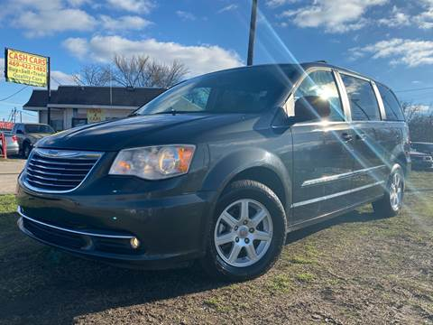 2012 Chrysler Town and Country Touring for sale at Texas Select Autos LLC in Mckinney TX