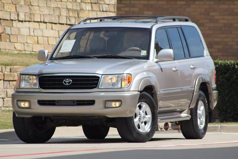 2000 Toyota Land Cruiser for sale at Texas Select Autos LLC in Mckinney TX