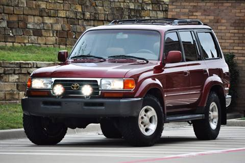 1995 Toyota Land Cruiser for sale at Texas Select Autos LLC in Mckinney TX