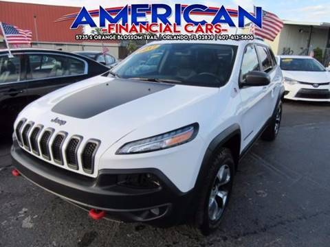 2017 Jeep Cherokee for sale at American Financial Cars in Orlando FL