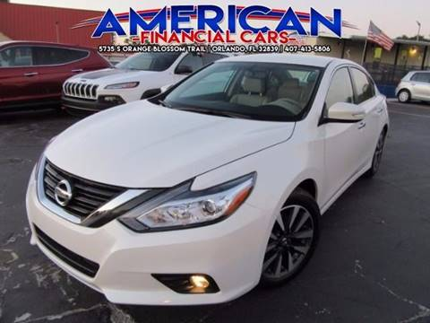 2017 Nissan Altima for sale at American Financial Cars in Orlando FL