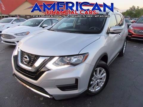 2017 Nissan Rogue for sale at American Financial Cars in Orlando FL