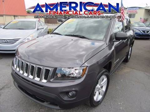 2016 Jeep Compass for sale at American Financial Cars in Orlando FL