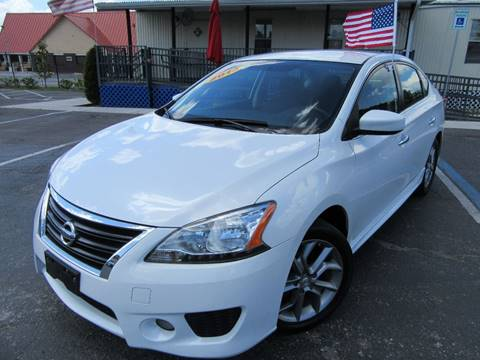 2013 Nissan Sentra for sale at American Financial Cars in Orlando FL