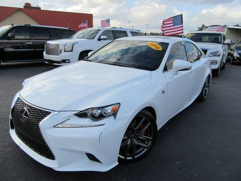 2014 Lexus IS 350 for sale at American Financial Cars in Orlando FL