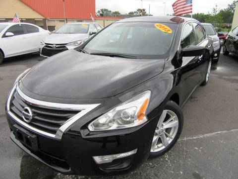 2013 Nissan Altima for sale at American Financial Cars in Orlando FL