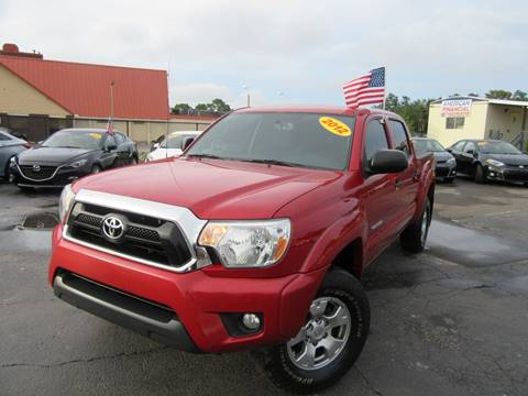 2012 Toyota Tacoma for sale at American Financial Cars in Orlando FL