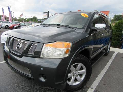 2008 Nissan Armada for sale at American Financial Cars in Orlando FL