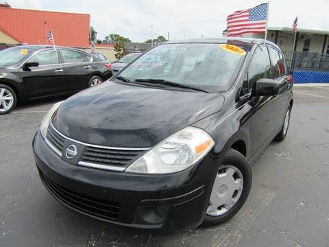 2009 Nissan Versa for sale at American Financial Cars in Orlando FL