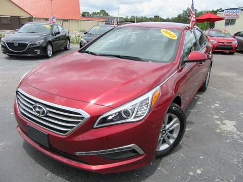 2015 Hyundai Sonata for sale at American Financial Cars in Orlando FL