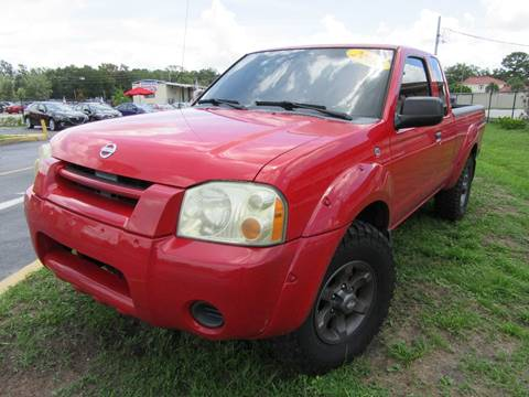 2002 Nissan Frontier for sale at American Financial Cars in Orlando FL