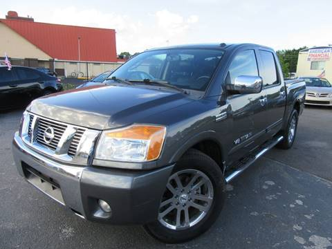 2011 Nissan Titan for sale at American Financial Cars in Orlando FL