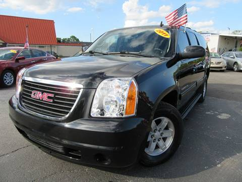 2011 GMC Yukon XL for sale at American Financial Cars in Orlando FL